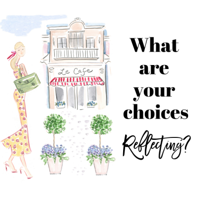 WHAT ARE YOUR CHOICES REFLECTING?