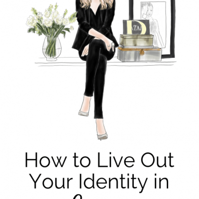HOW TO LIVE OUT YOUR IDENTITY IN CHRIST