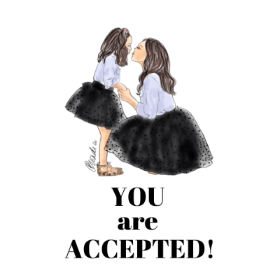 YOU are Accepted!