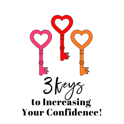 3 Keys to Increasing Your Confidence